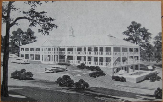File 1950 Postcard Merrit Parkway Hotel Fairfield Connecticut Jpg