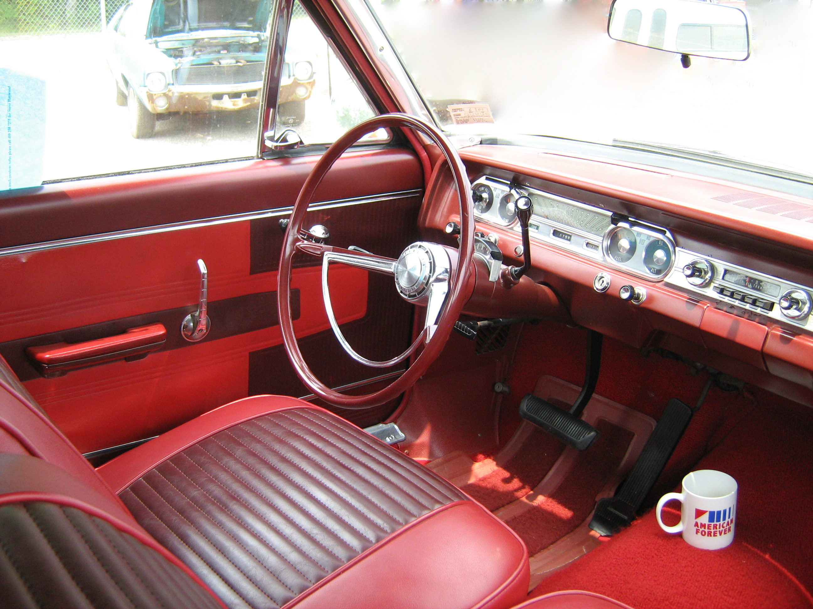 1963 AMC RAMBLER CLASSIC CUSTOM STATION WAGON 157655 besides 1965 Buick Wildcat furthermore 1950 Deluxe Convertible in addition 1935 Ford Pickup likewise 1966 1967 Buick Riviera Review Specs. on 1963 amc interior