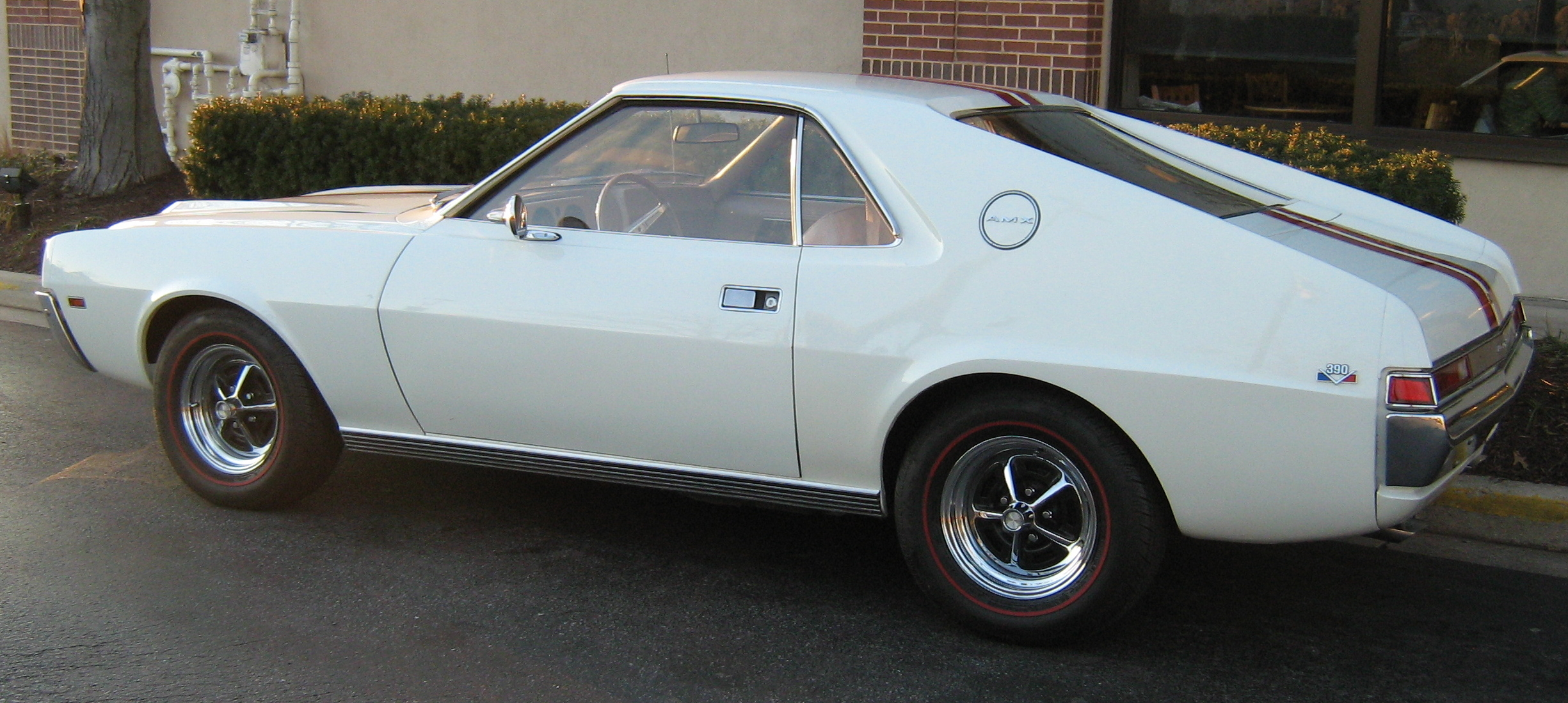 File 1968 Amc Amx 390 Go Pac White Wikimedia Commons