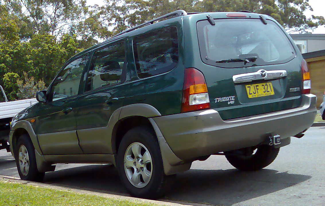 file 2001 2004 mazda tribute classic v6 wagon 2008 10 31 jpg wikimedia commons. Black Bedroom Furniture Sets. Home Design Ideas
