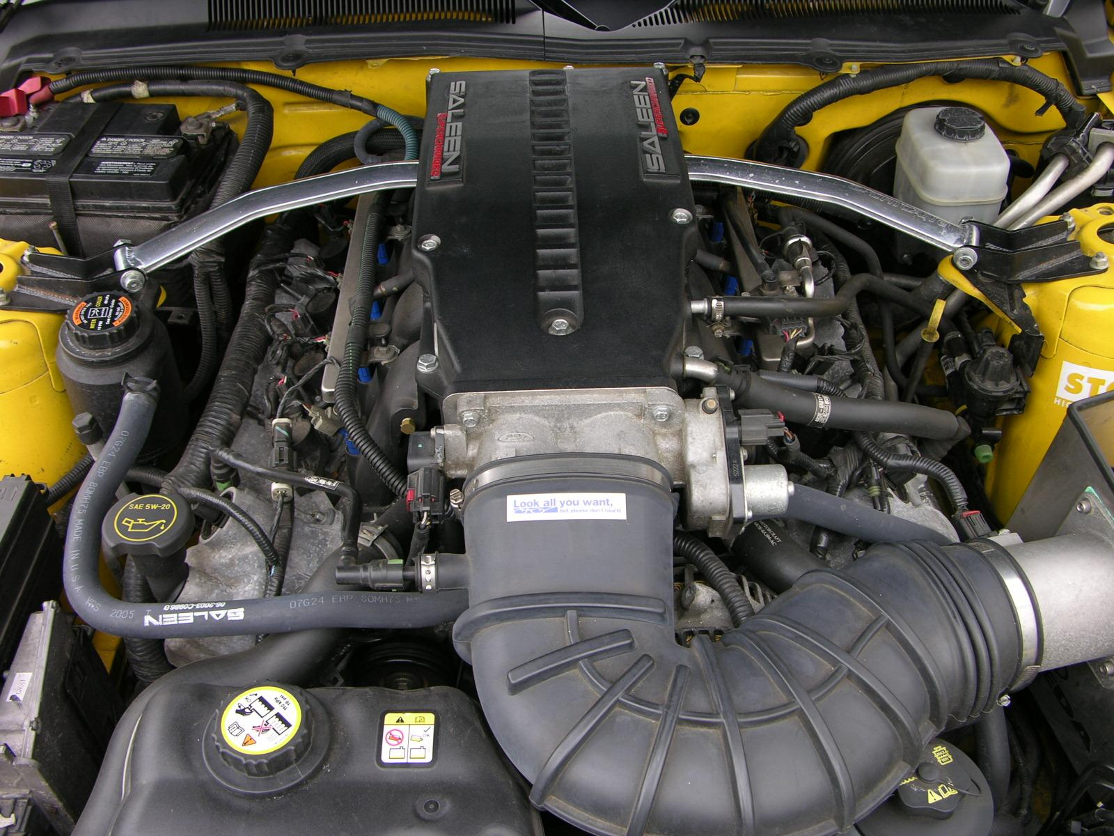 File:2005 Ford Mustang GT Supercharged - Flickr - The Car