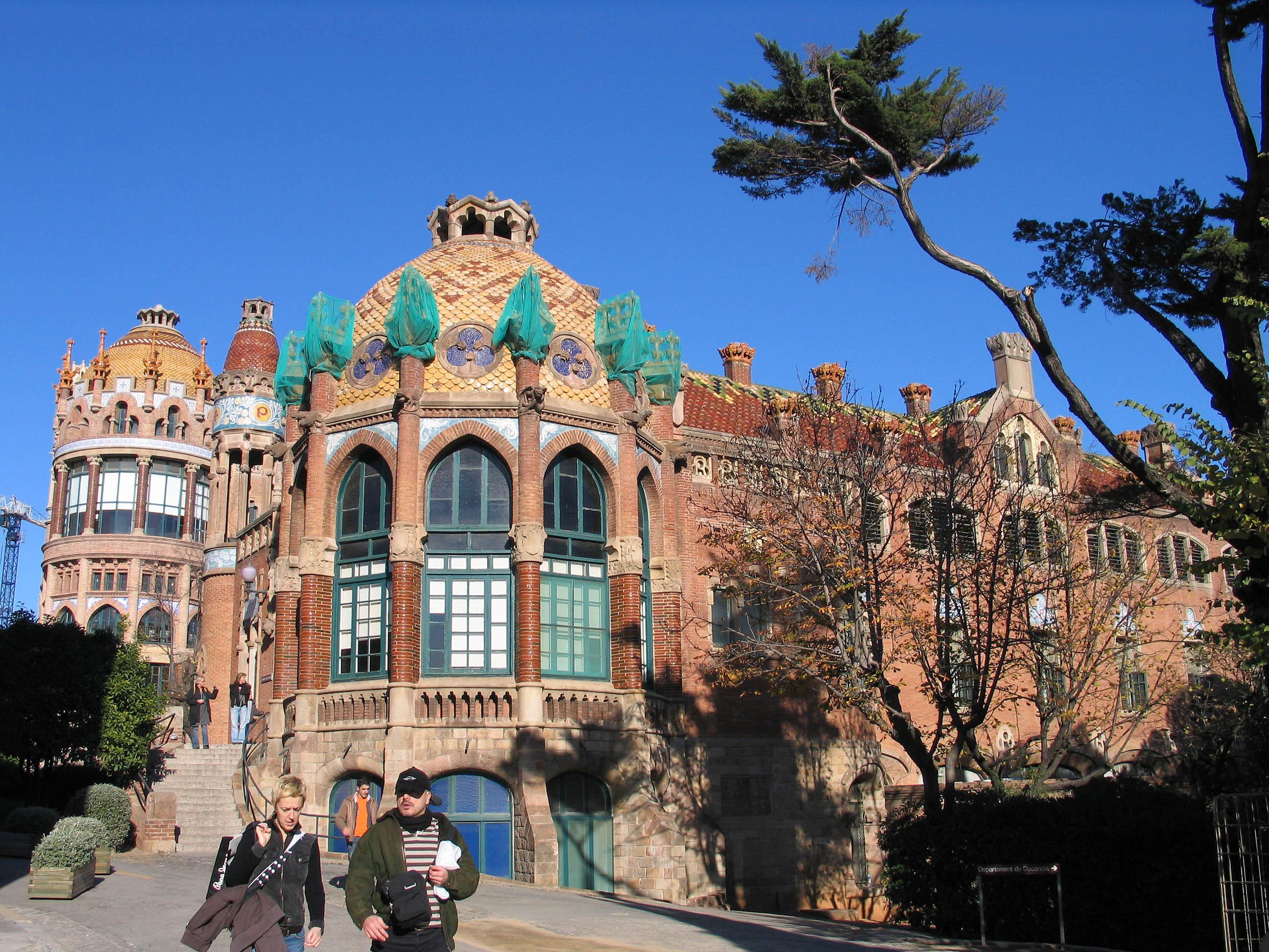 ファイル 20061225 barcelona hospital de la santa creu i sant pau 3