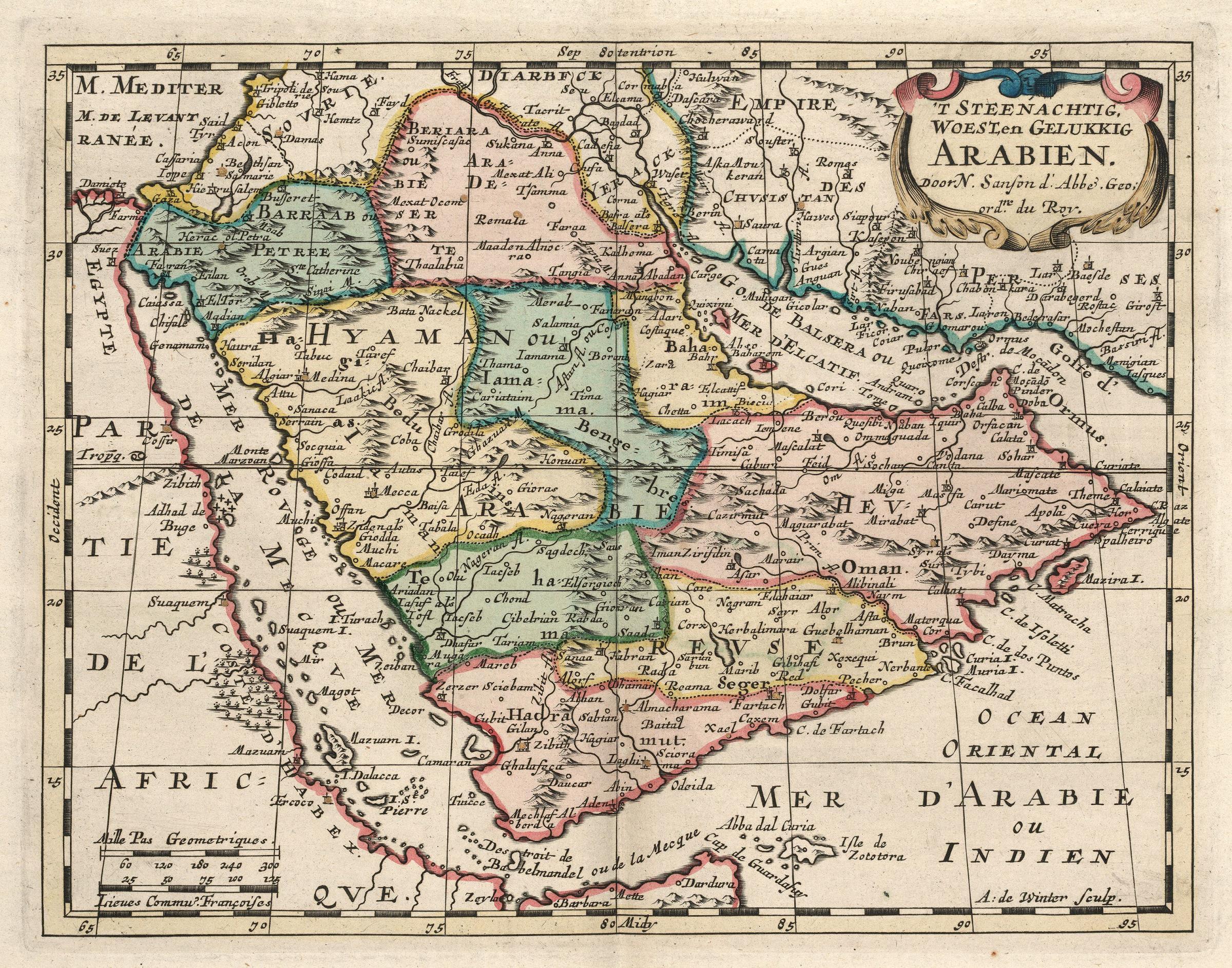 File:AMH-6660-KB Map of the Arabian peninsula.jpg - Wikimedia Commons
