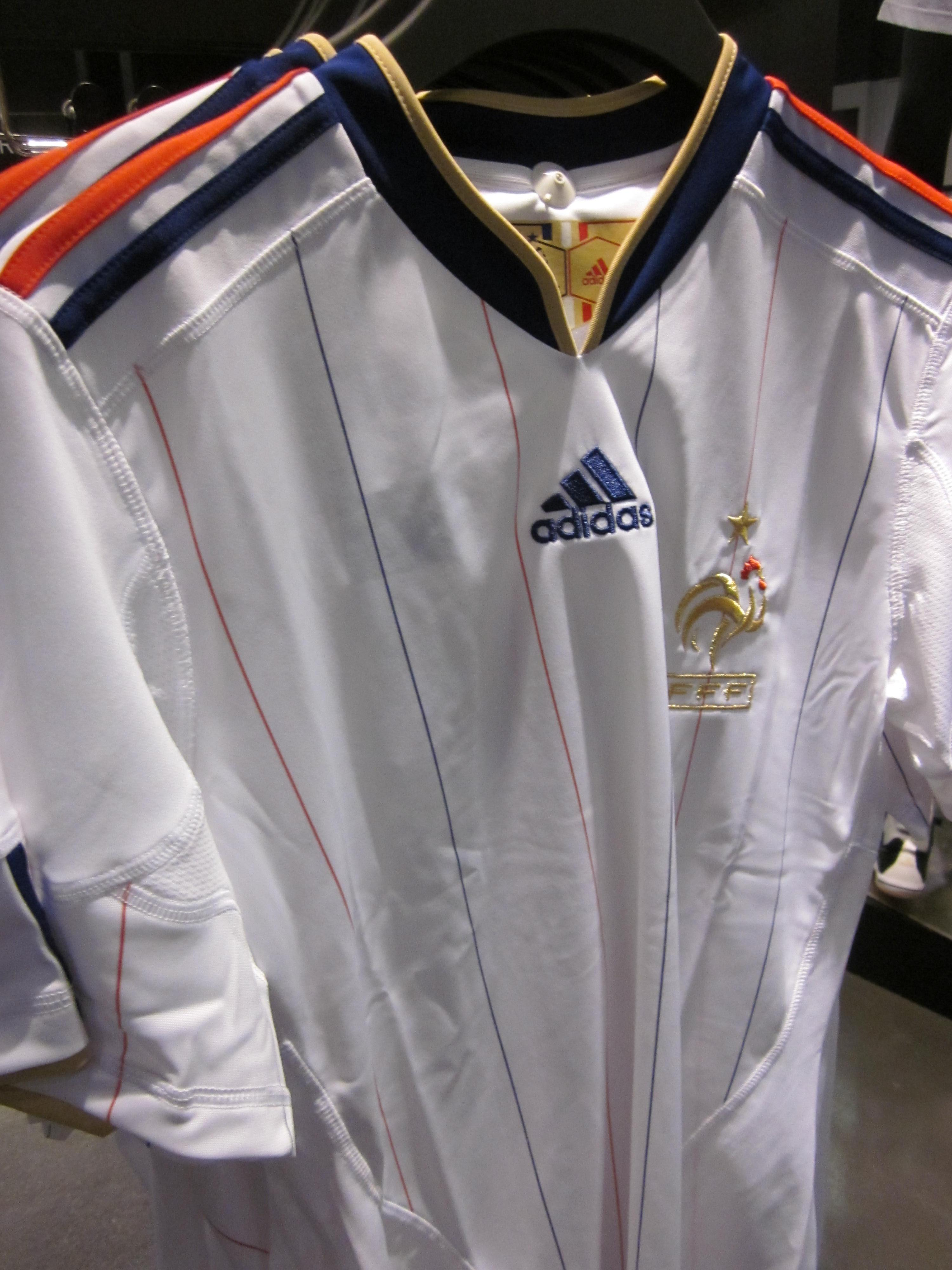 File:Adidas France national football team away jersey.JPG ...