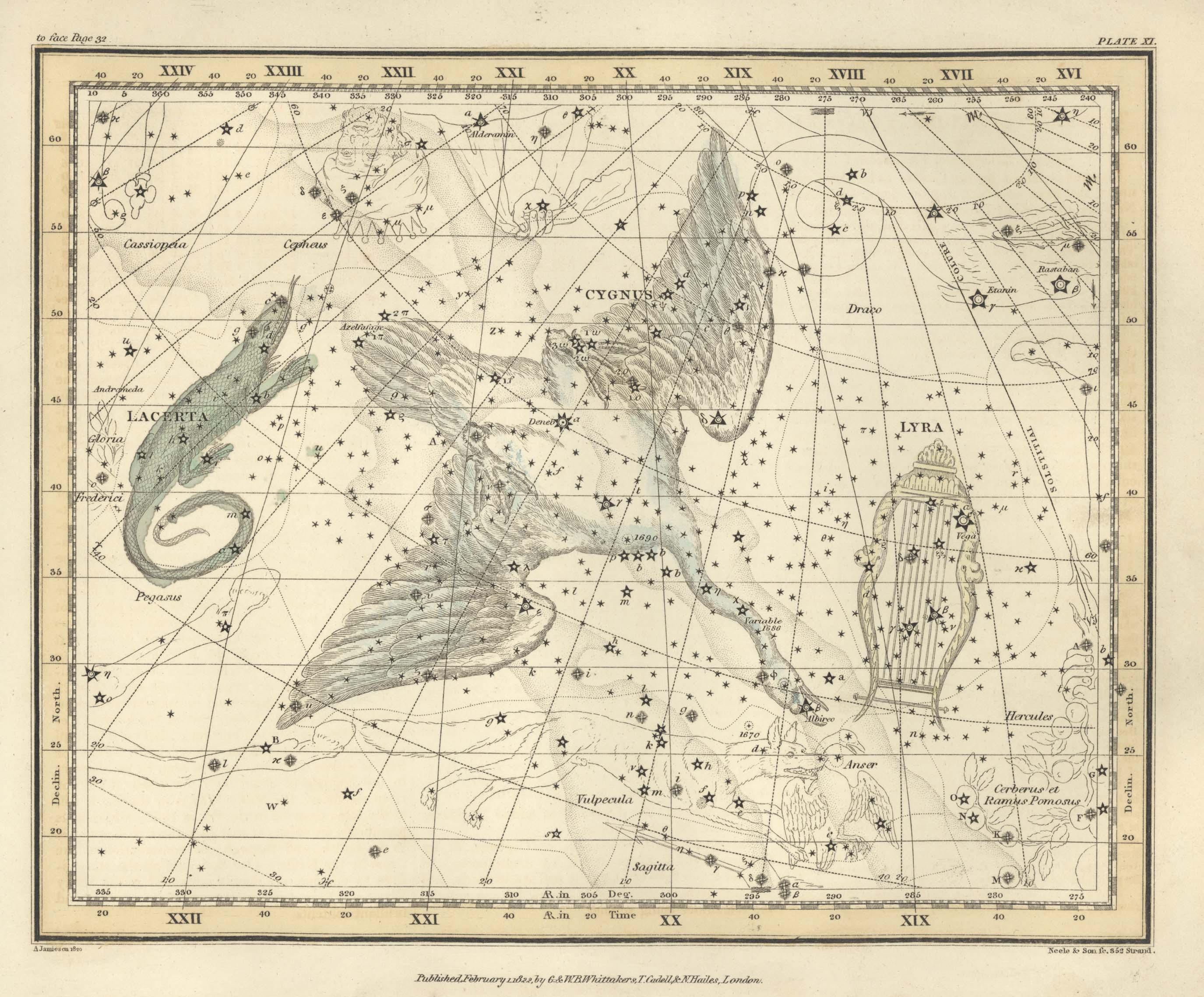 Ian Ridpath Alexander Jamieson S Celestial Atlas 1822