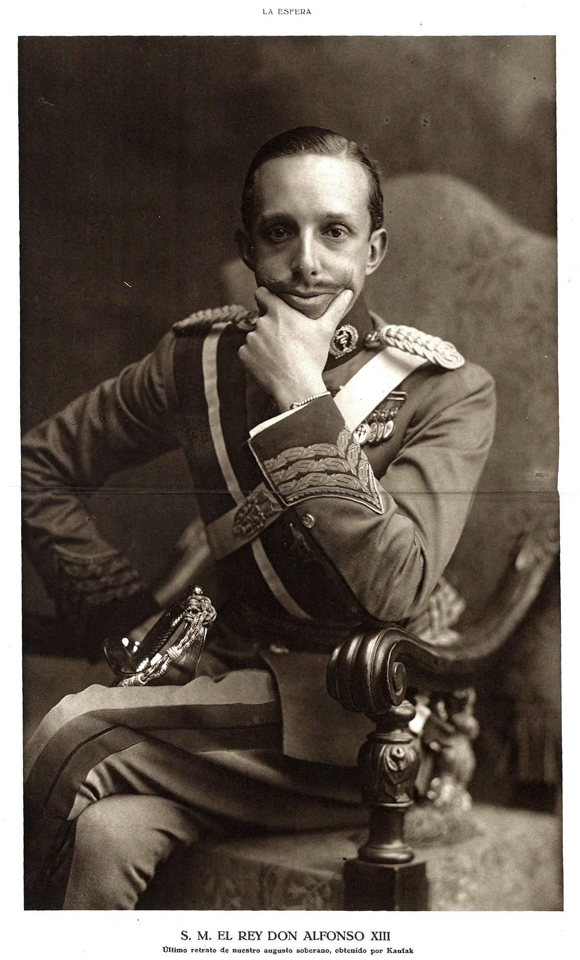 File:Alfonso XIII, de Kaulak.jpg - Wikimedia Commons