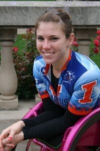 Amanda McGrory American wheelchair athlete
