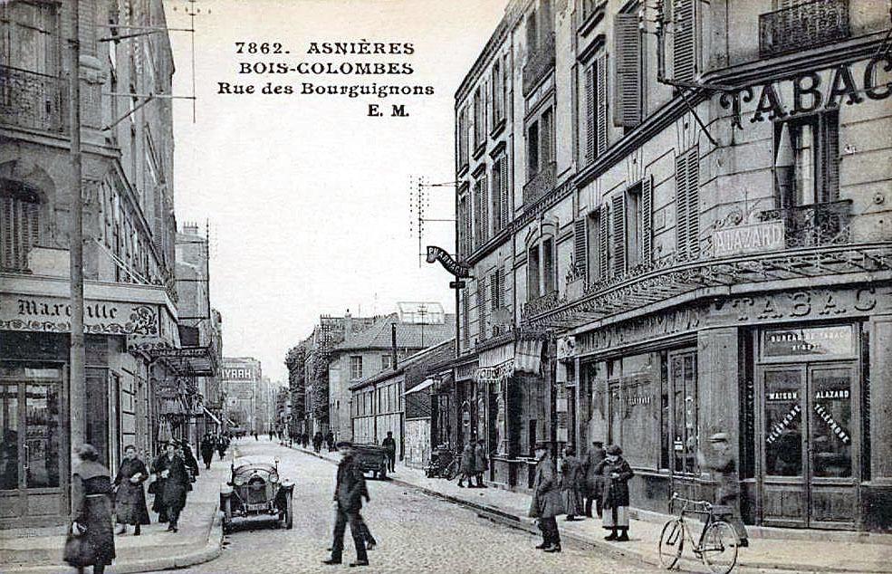 FileAsnieres  BoisColombes  Rue des Bourguignonsjpg  ~ Encombrants Bois Colombes