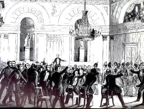 Gewaltsame Auflösung der preußischen Nationalversammlung