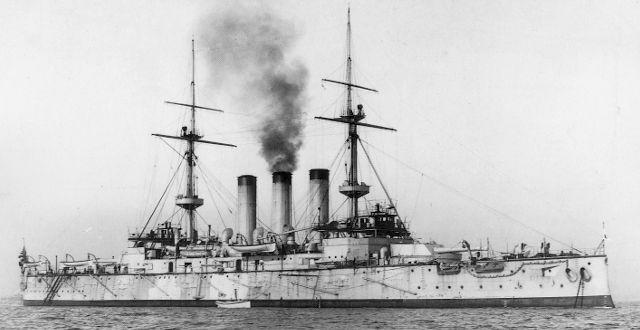File:Battleship Shikishima.jpg