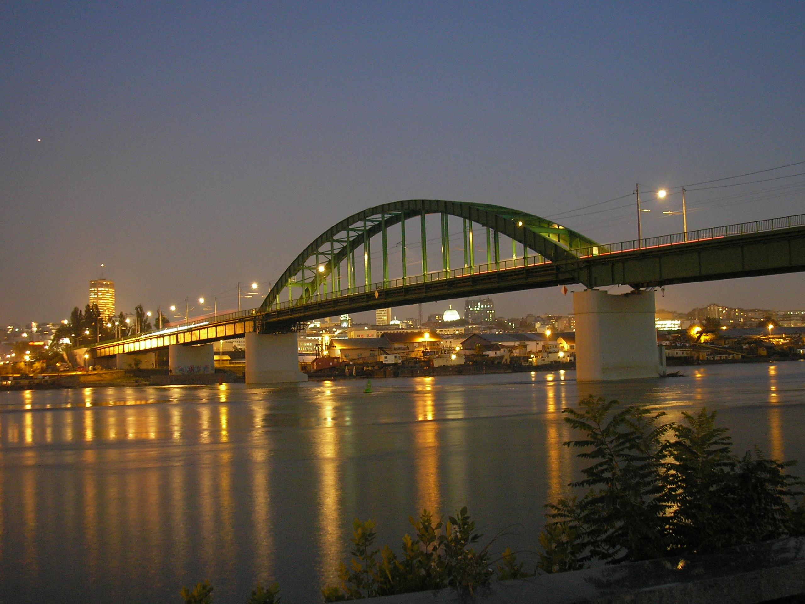Belgrade Old Sava Bridge - Best of Serbia | Best of Europe