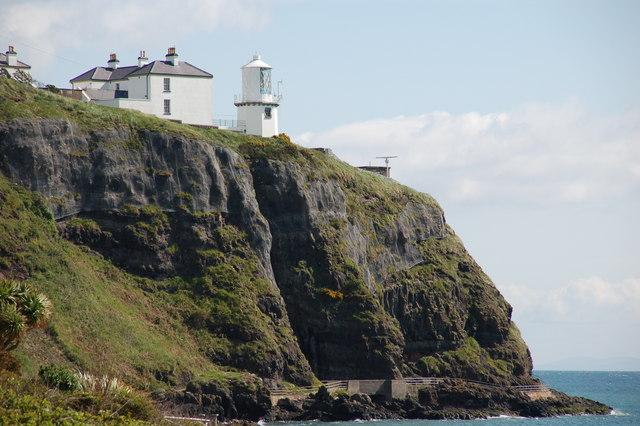Blackhead Lighthouse, Belfast Lough - geograph.org.uk - 173761