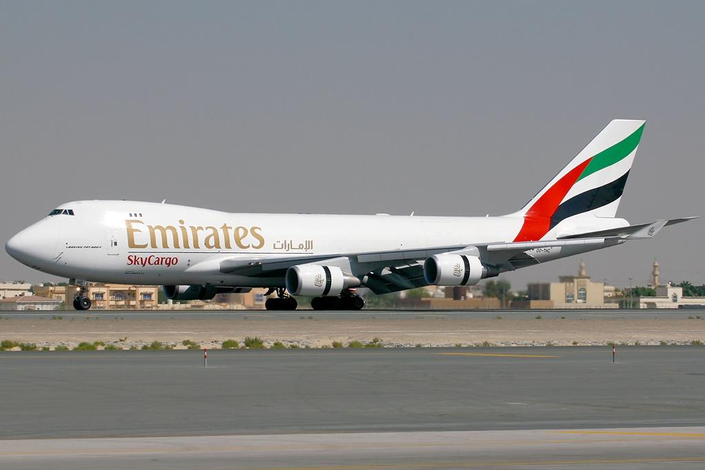 File:Boeing 747-4HAF-ER-SCD, Emirates SkyCargo (TNT ...