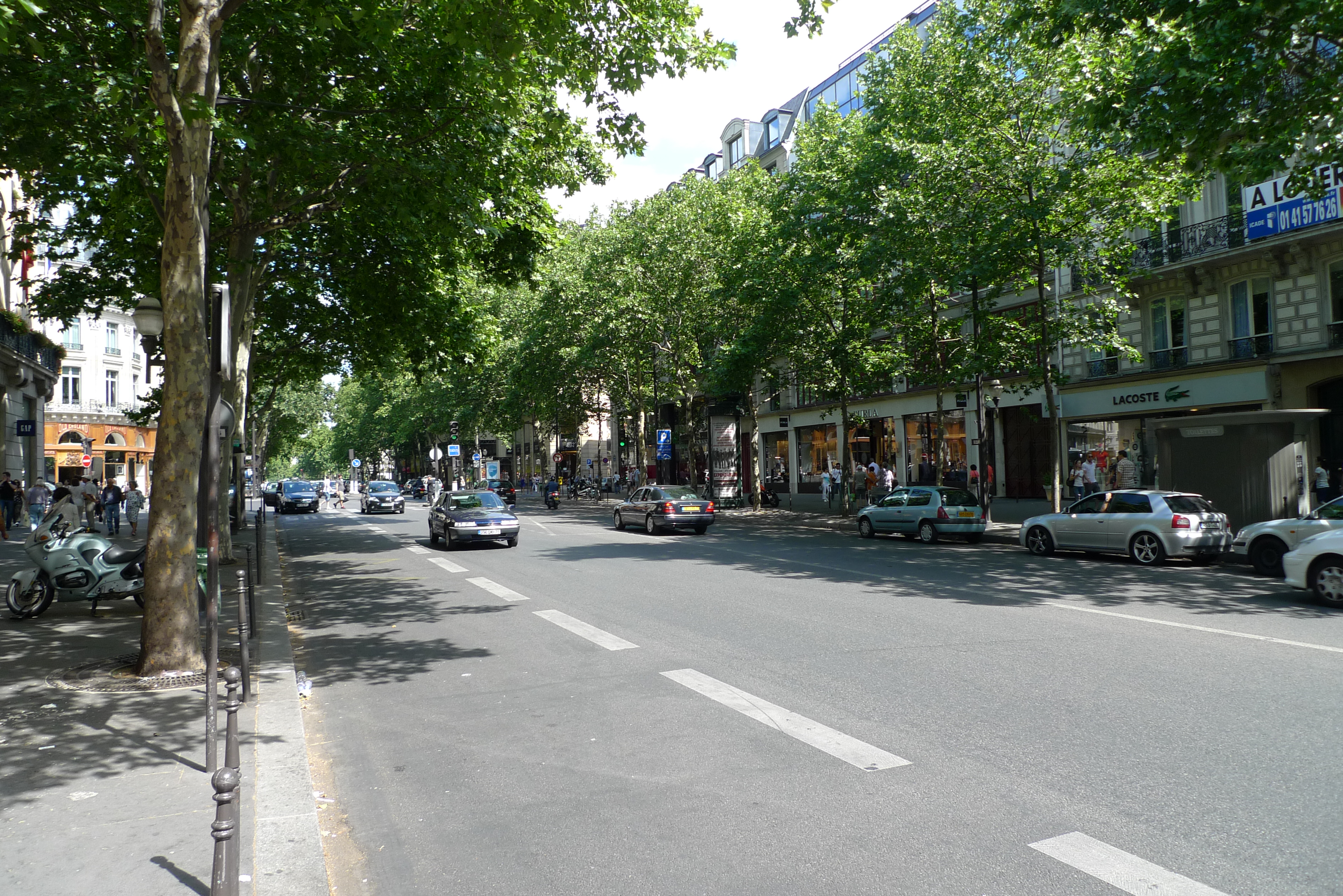 Landmarks in paris wiki everipedia - Bureau de change boulevard des capucines ...