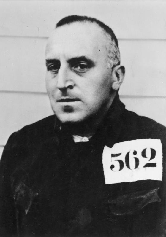Nobel Peace Prize winner Carl von Ossietzky