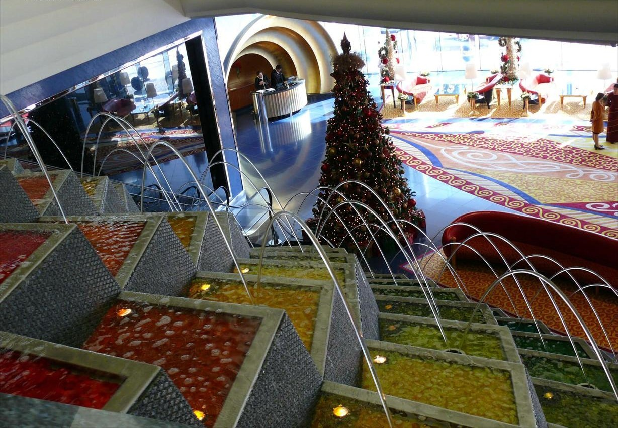 Fotos Impresionantes Hotel 7 Estrellas Burj Al Arab