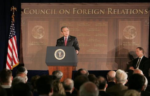 File:Bush addresses council on foreign relations regarding Iraq War (December 7, 2005).jpeg