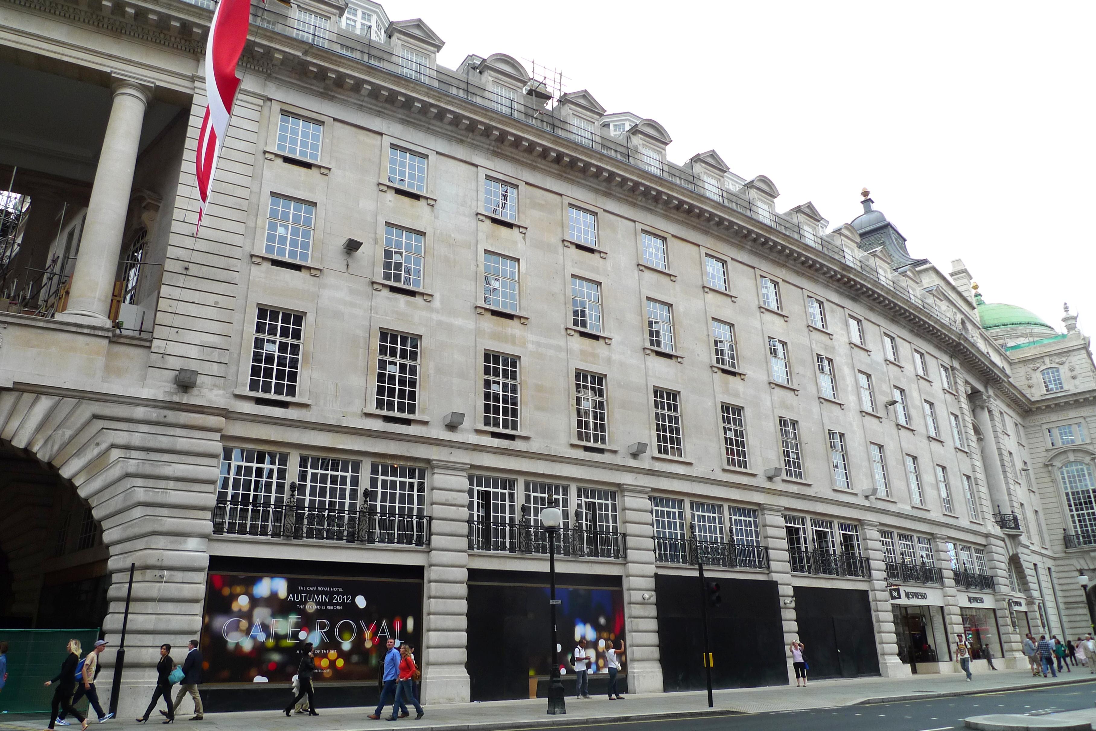 Cafe Royal  Regent Street