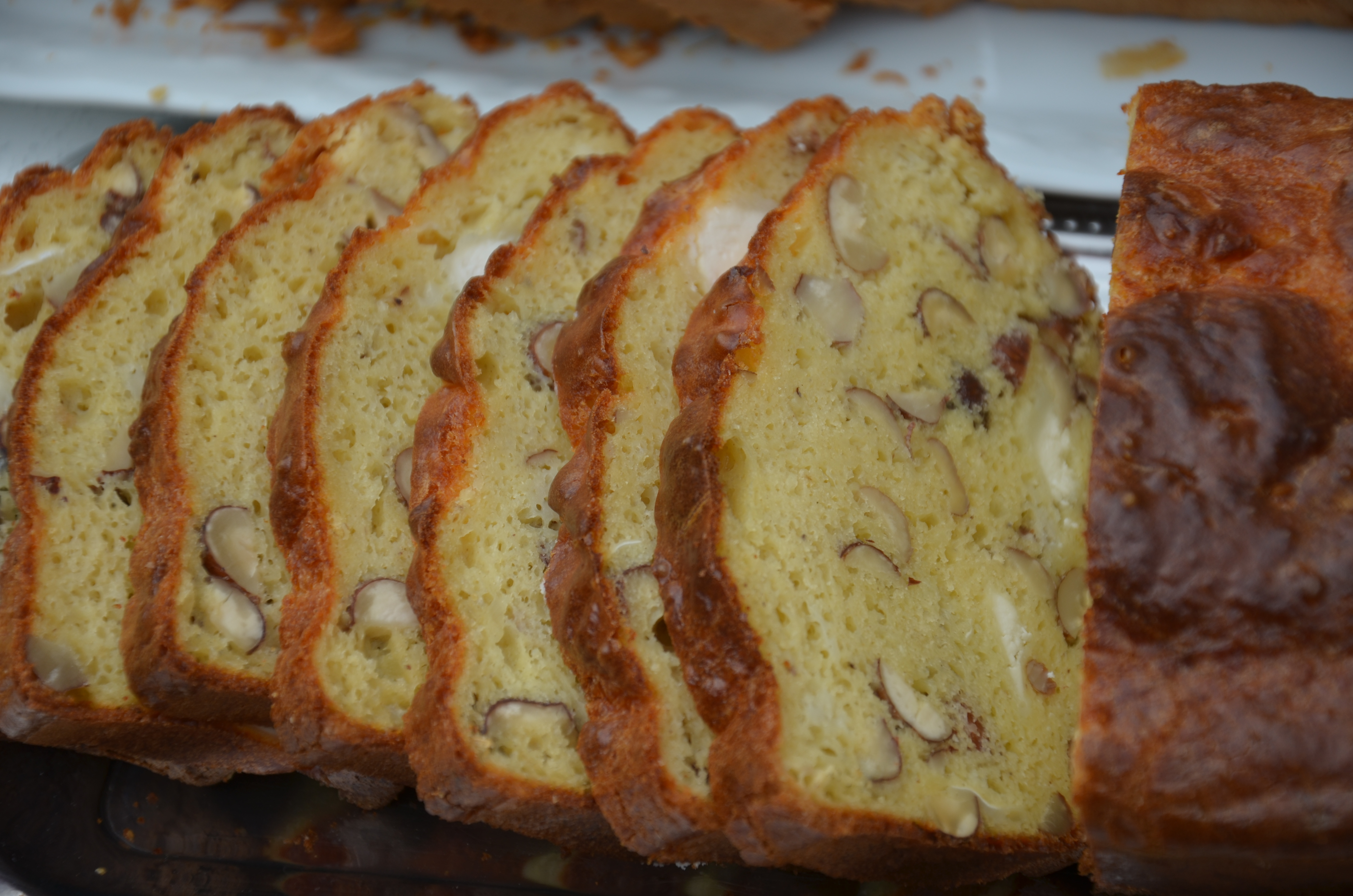 Cake Au Ch Ef Bf Bdvre Frais Et Tomates S Ef Bf Bdch Ef Bf Bdes