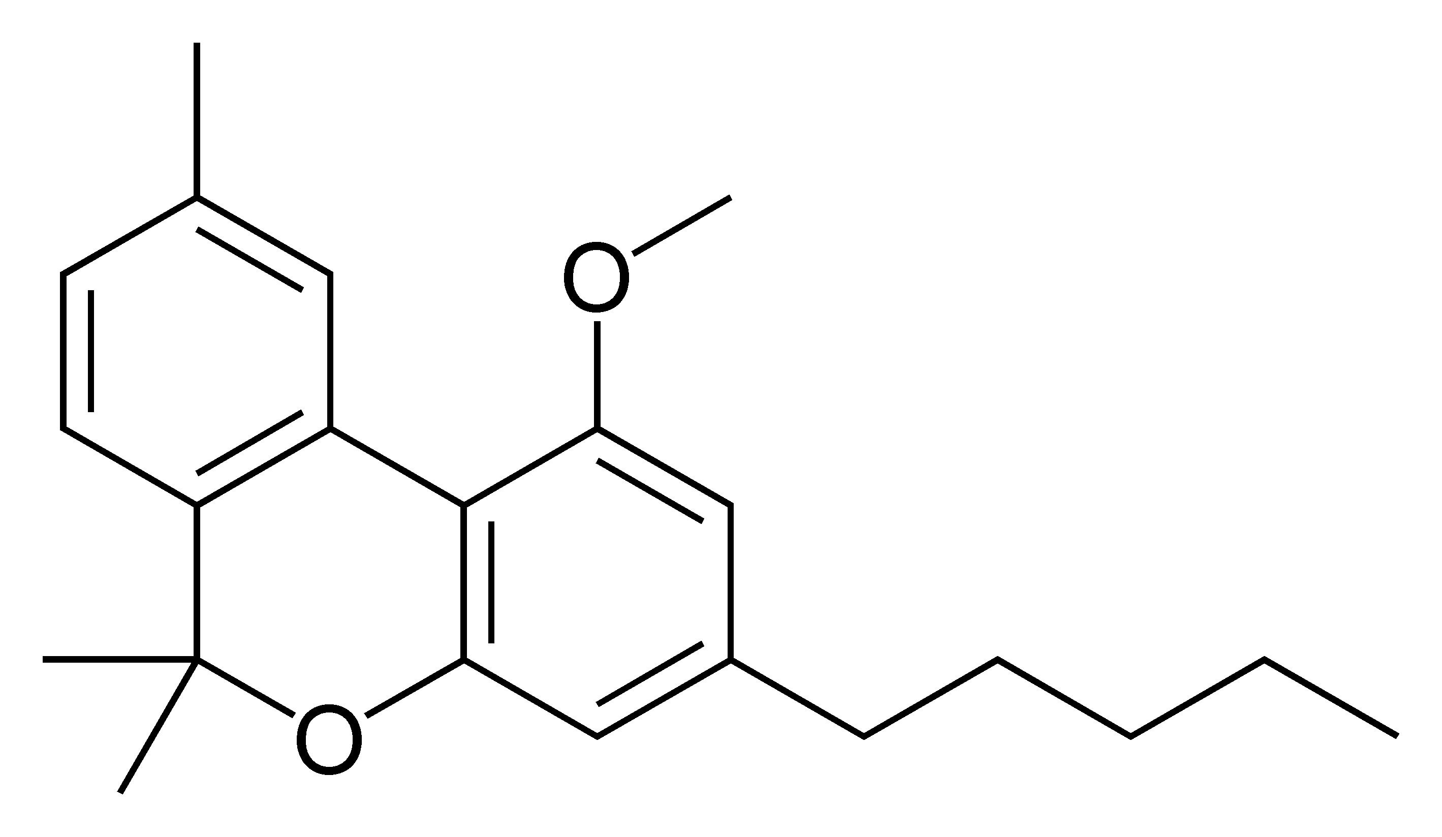 File:Cannabinol_methyl_ether on Chemical L