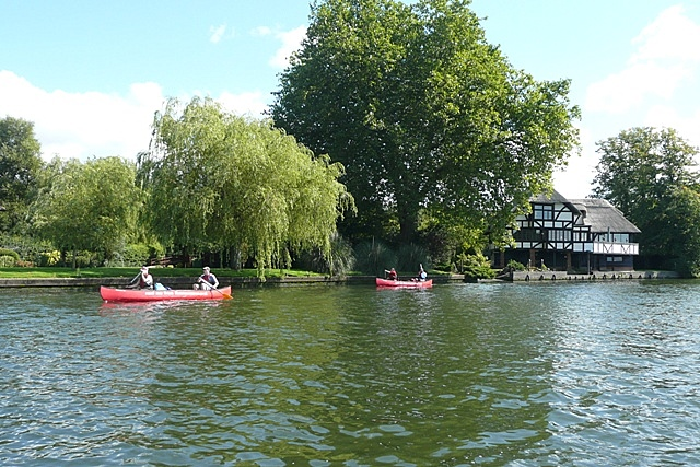 Canoes for hire - geograph.org.uk - 947842