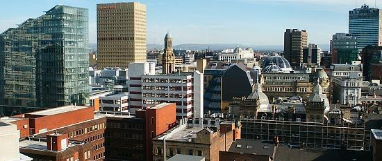 Pusat Bandar Manchester