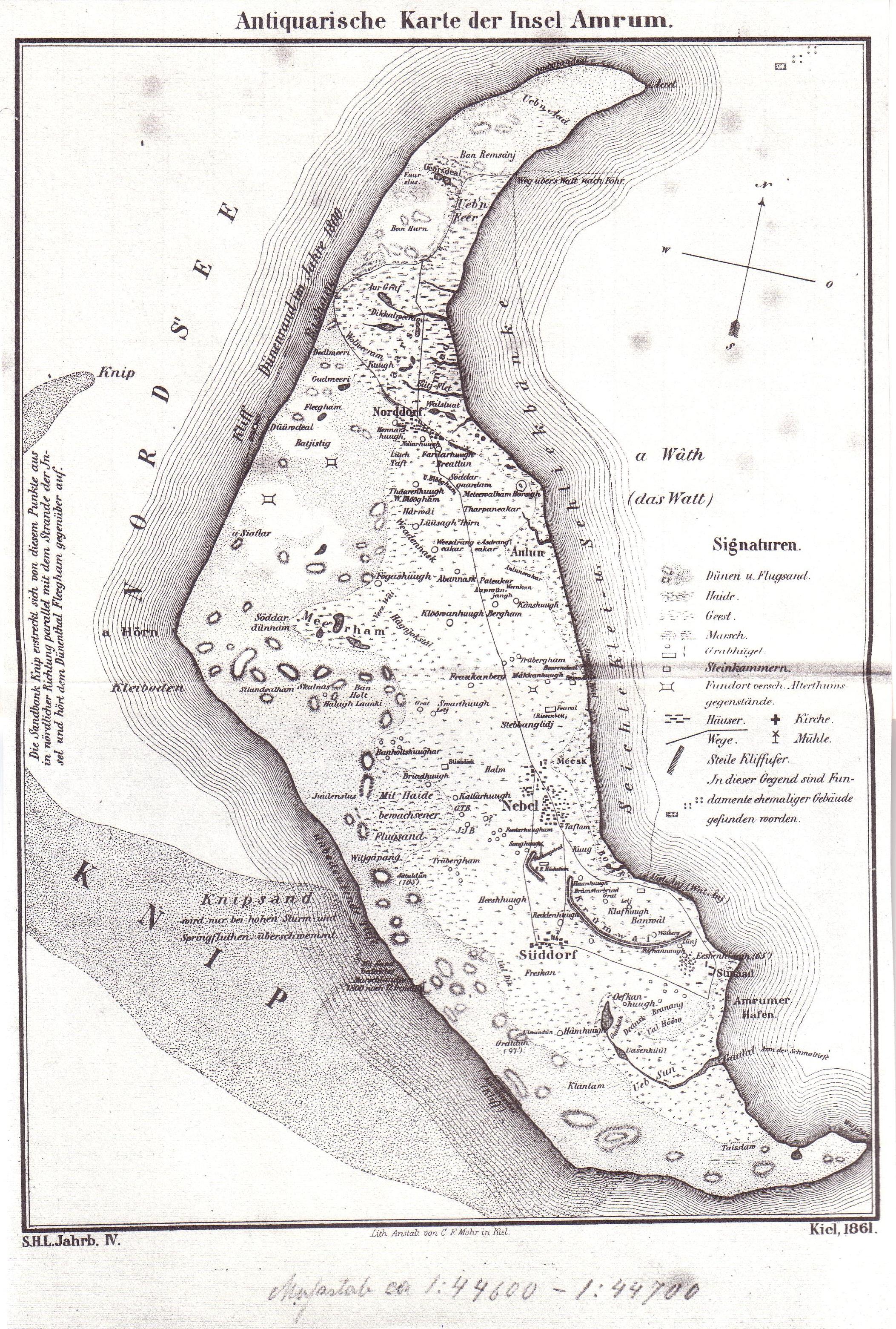 amrum karte Datei:Christian Johansen Amrum Karte 1861. – Wikipedia amrum karte