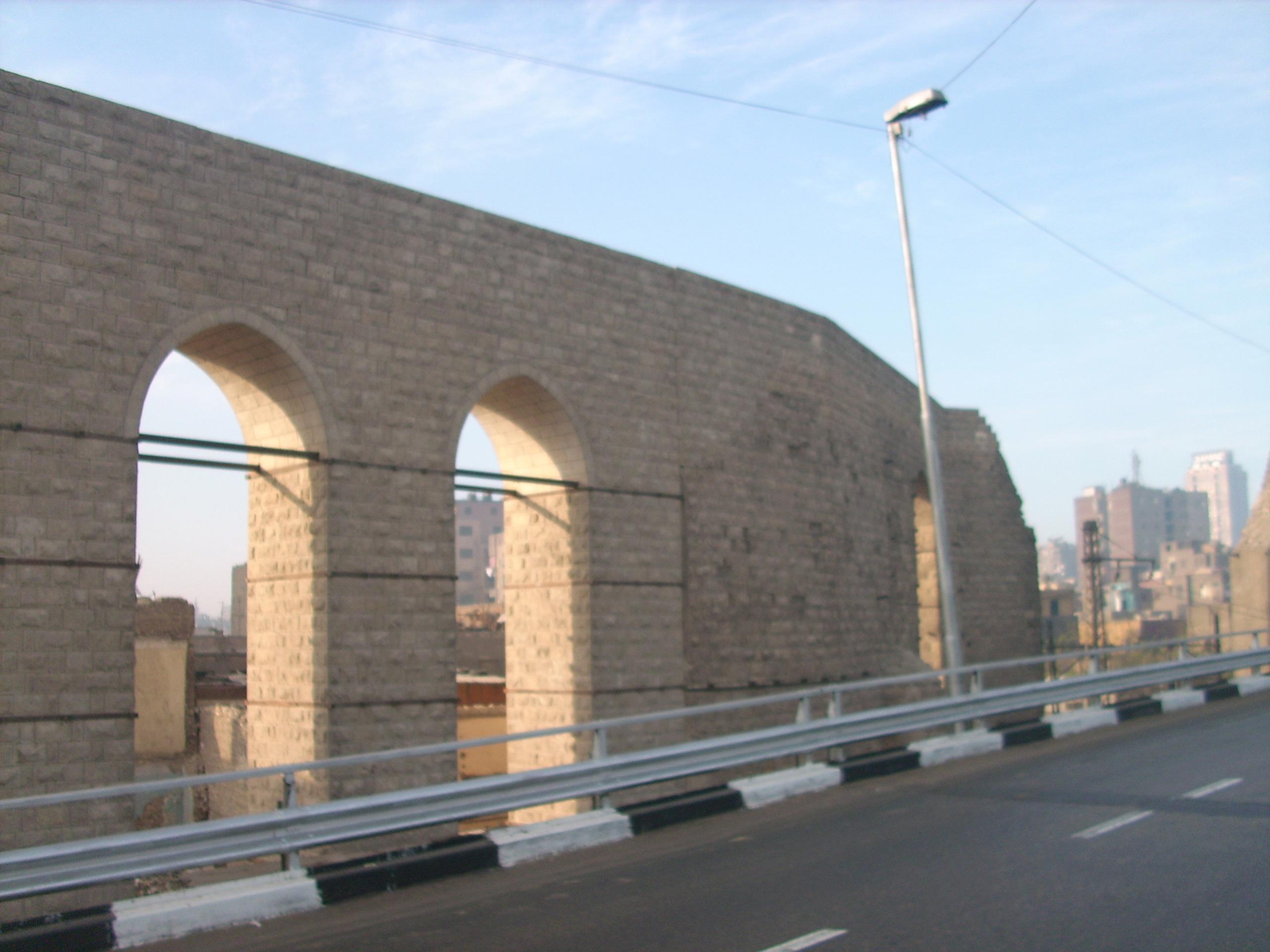FileCitadel Aqueduct Cairo14JPG