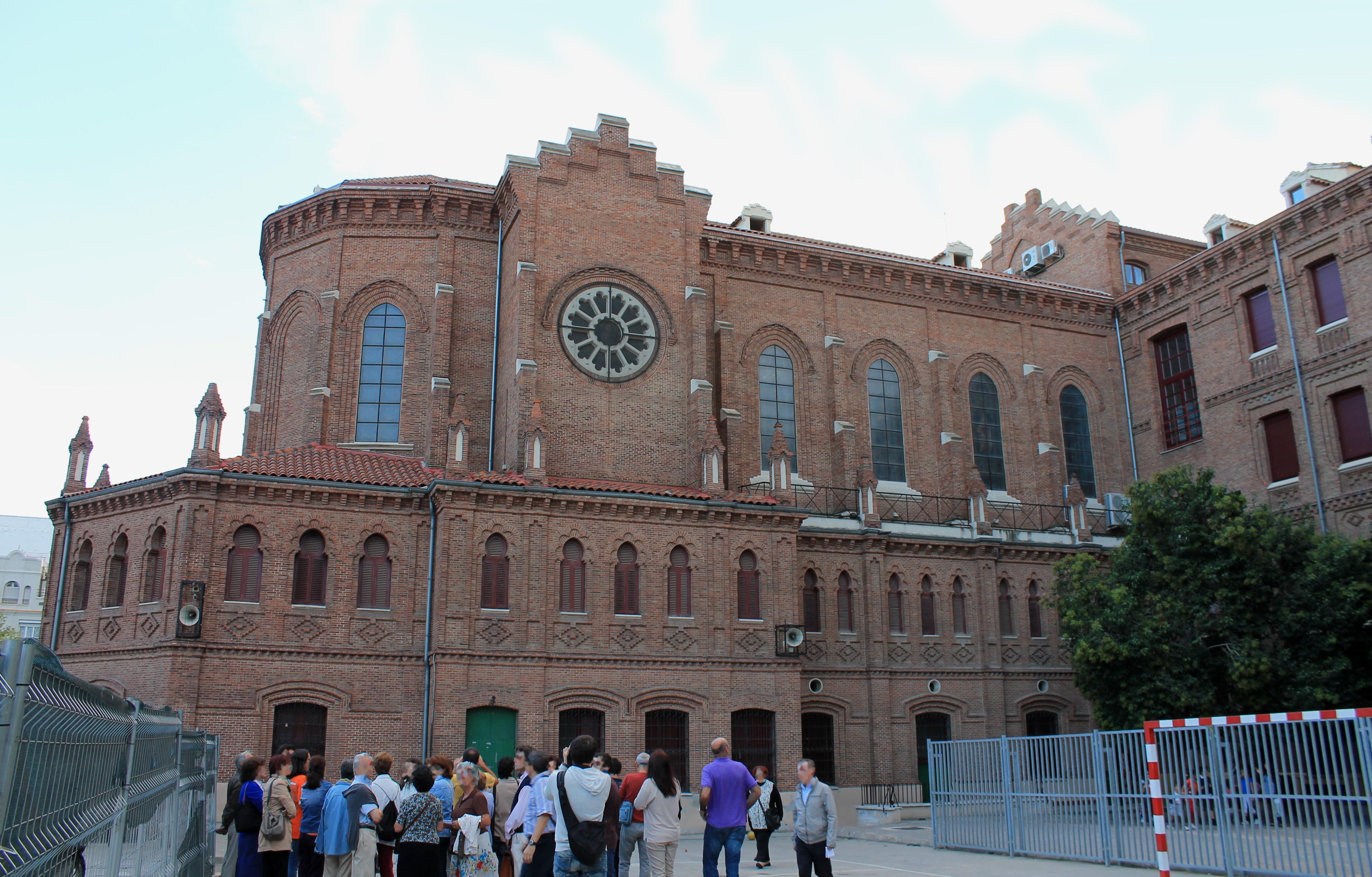 File colegio n sra de loreto 1898 madrid - Colegio escolapias madrid ...