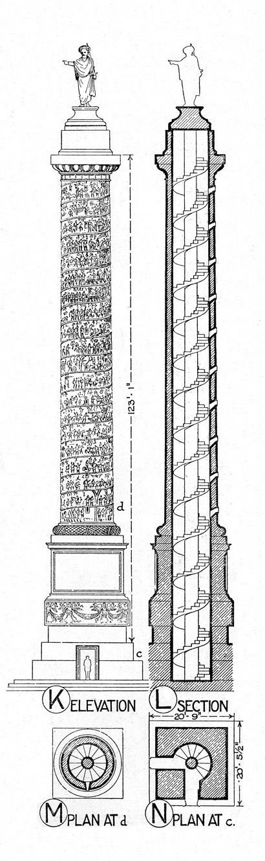 Elevation Plan Wiki : קובץ column of marcus aurelius plan elevation and
