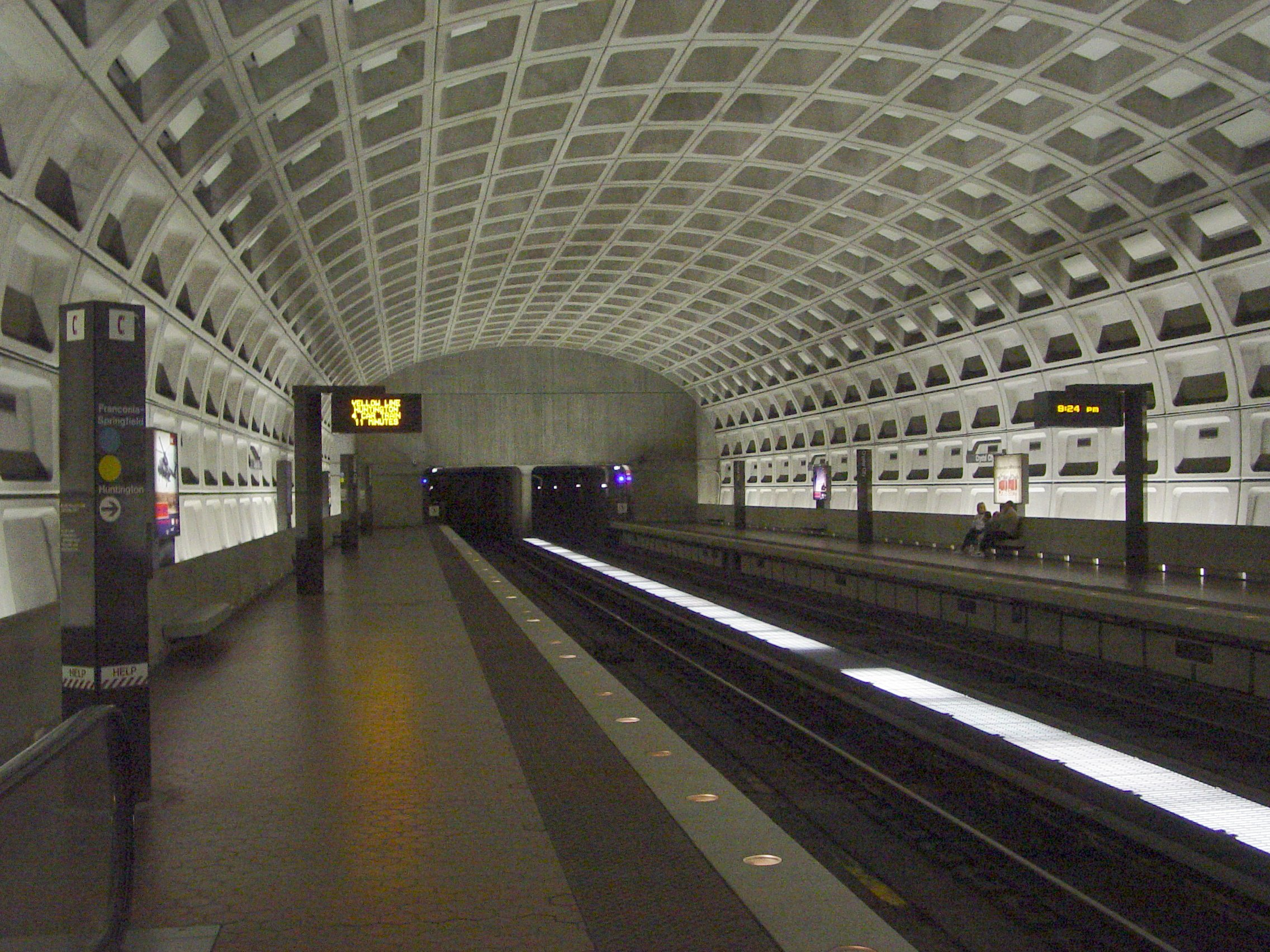 crystal city wmata station. Black Bedroom Furniture Sets. Home Design Ideas