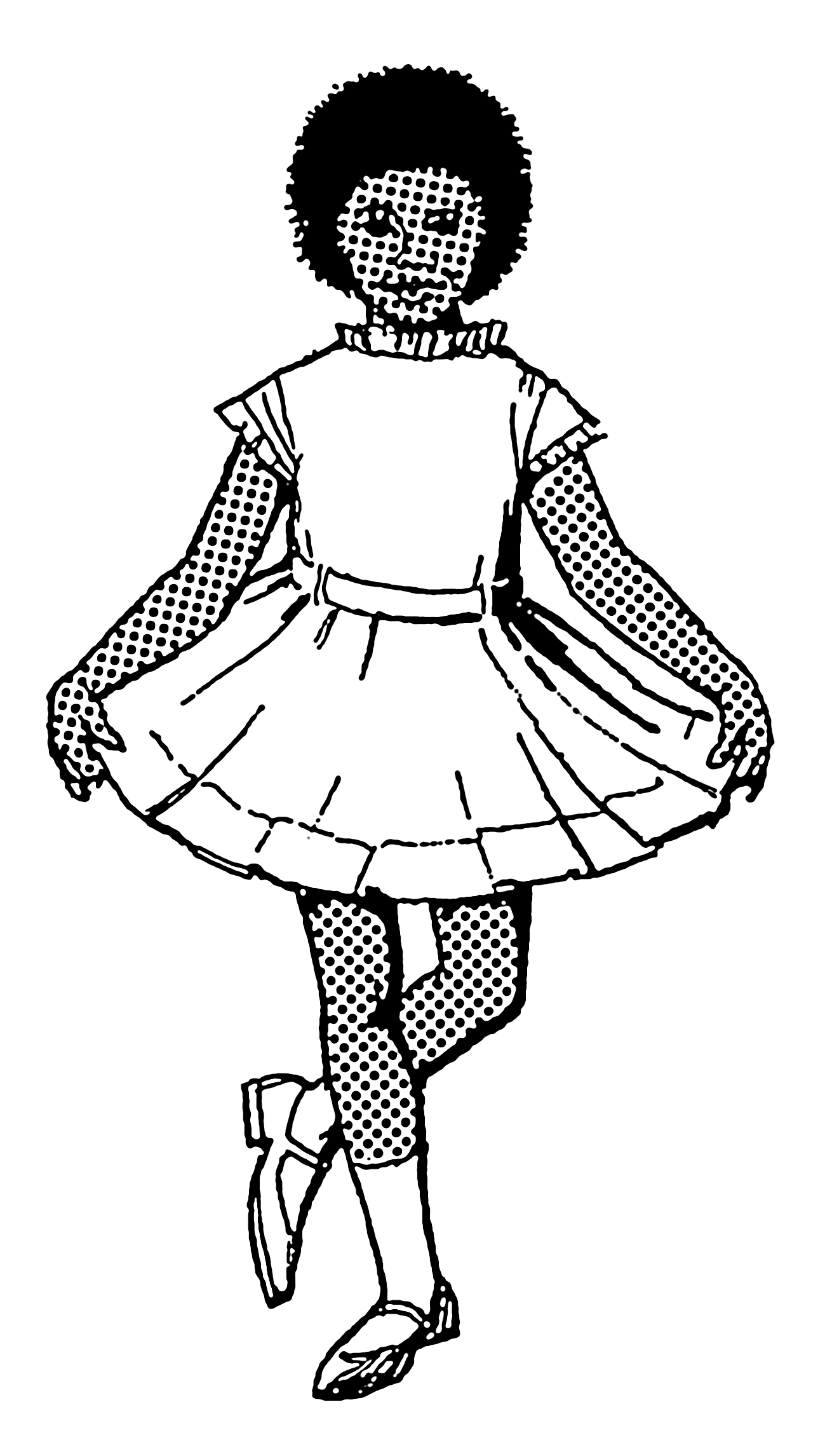 Fashion Girl Drawing Tumblr