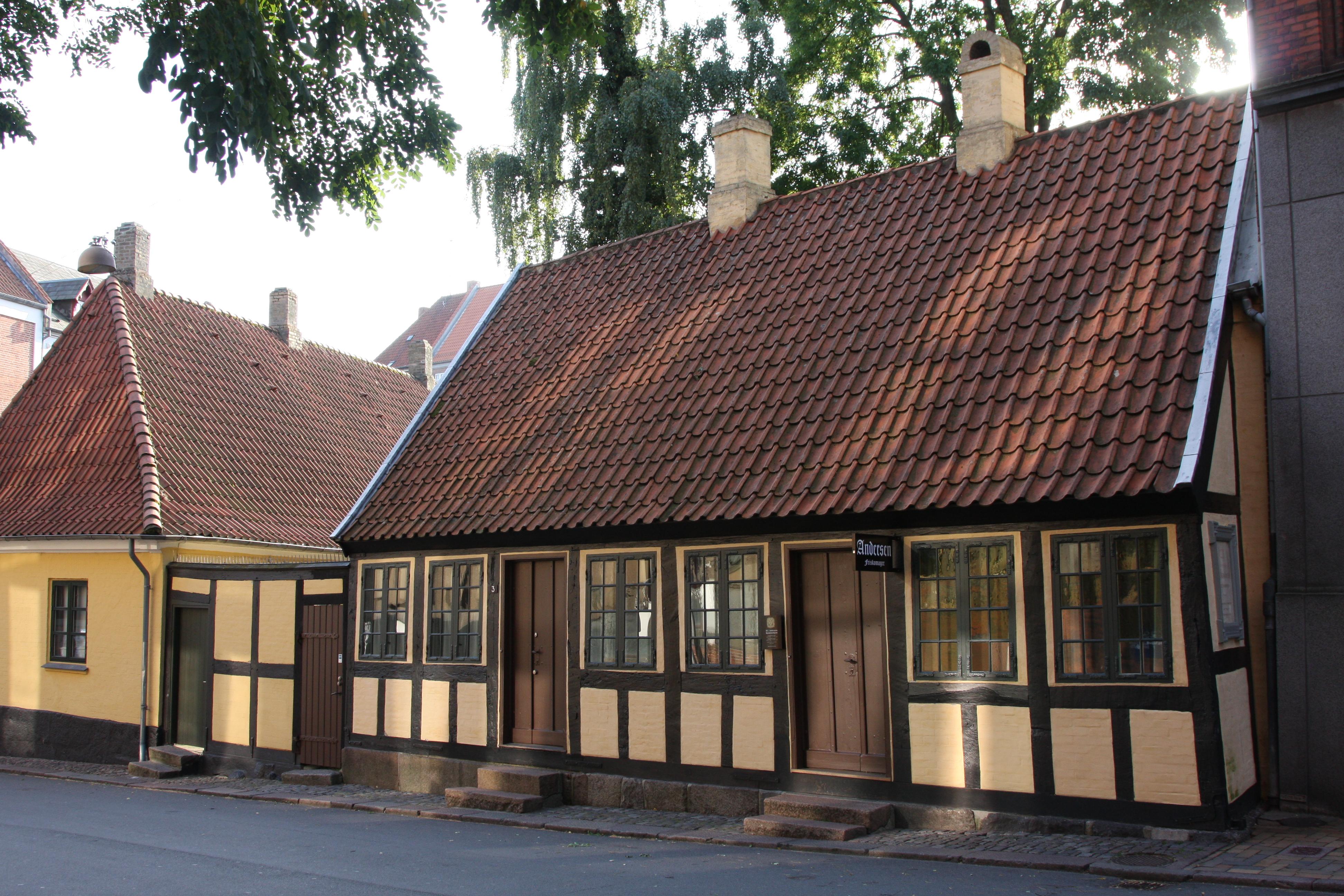 Odense Denmark  City new picture : Description Denmark odense hans christian andersen childhood home