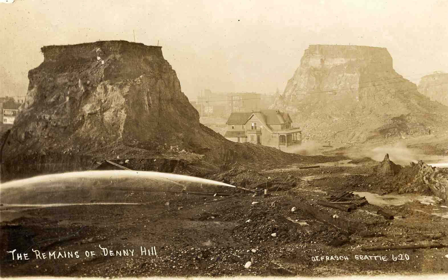 The Remains of Denny Hill Seattle A