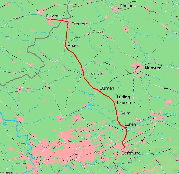 Dortmund Enschede Railway Wikipedia