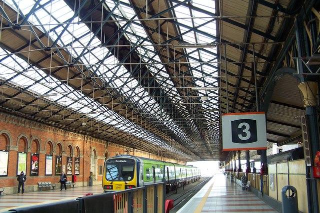 Platform 3 at Connolly Station