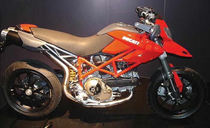 Ducati Performance Hypermotard Seat
