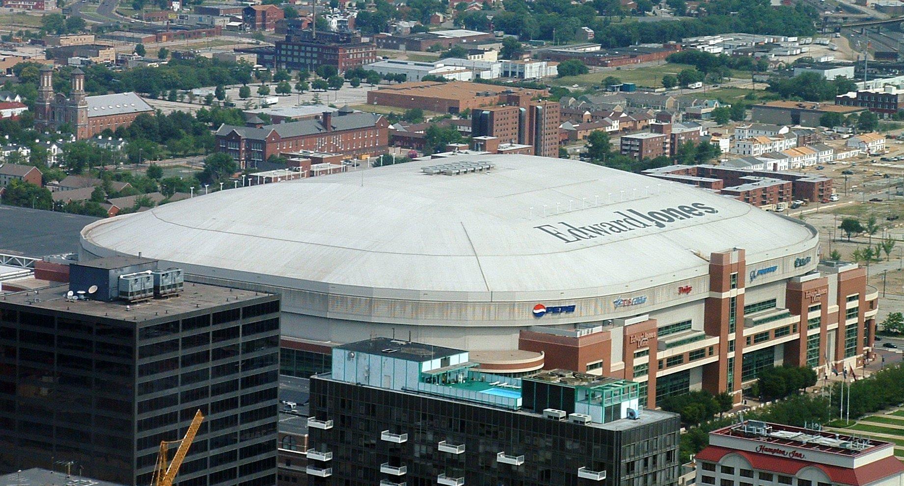 Stadion Edward Jones Dome St Louis Usa