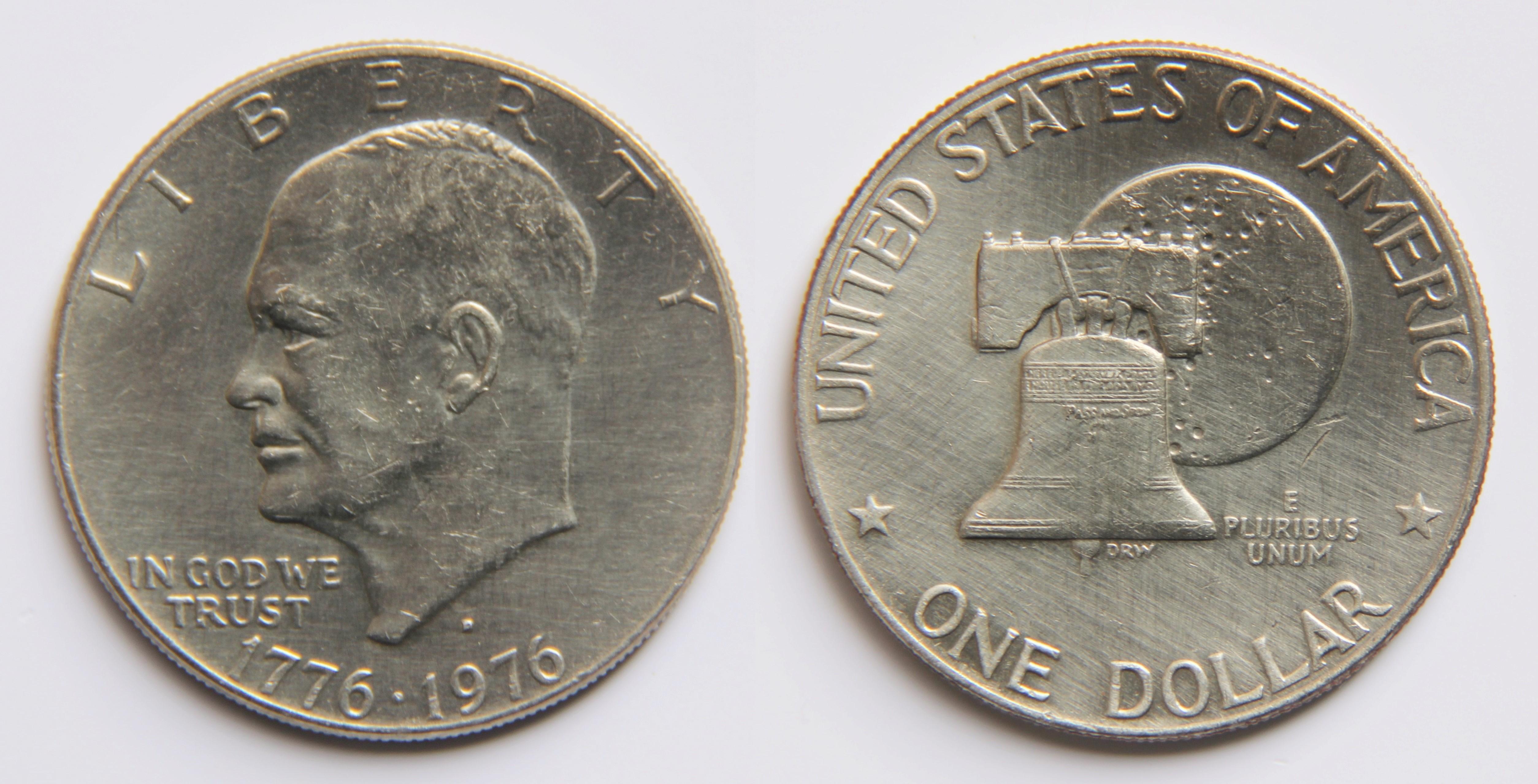 1973-S $1 40/% Silver Eisenhower Dollar Uncirculated Original Mint Envelope