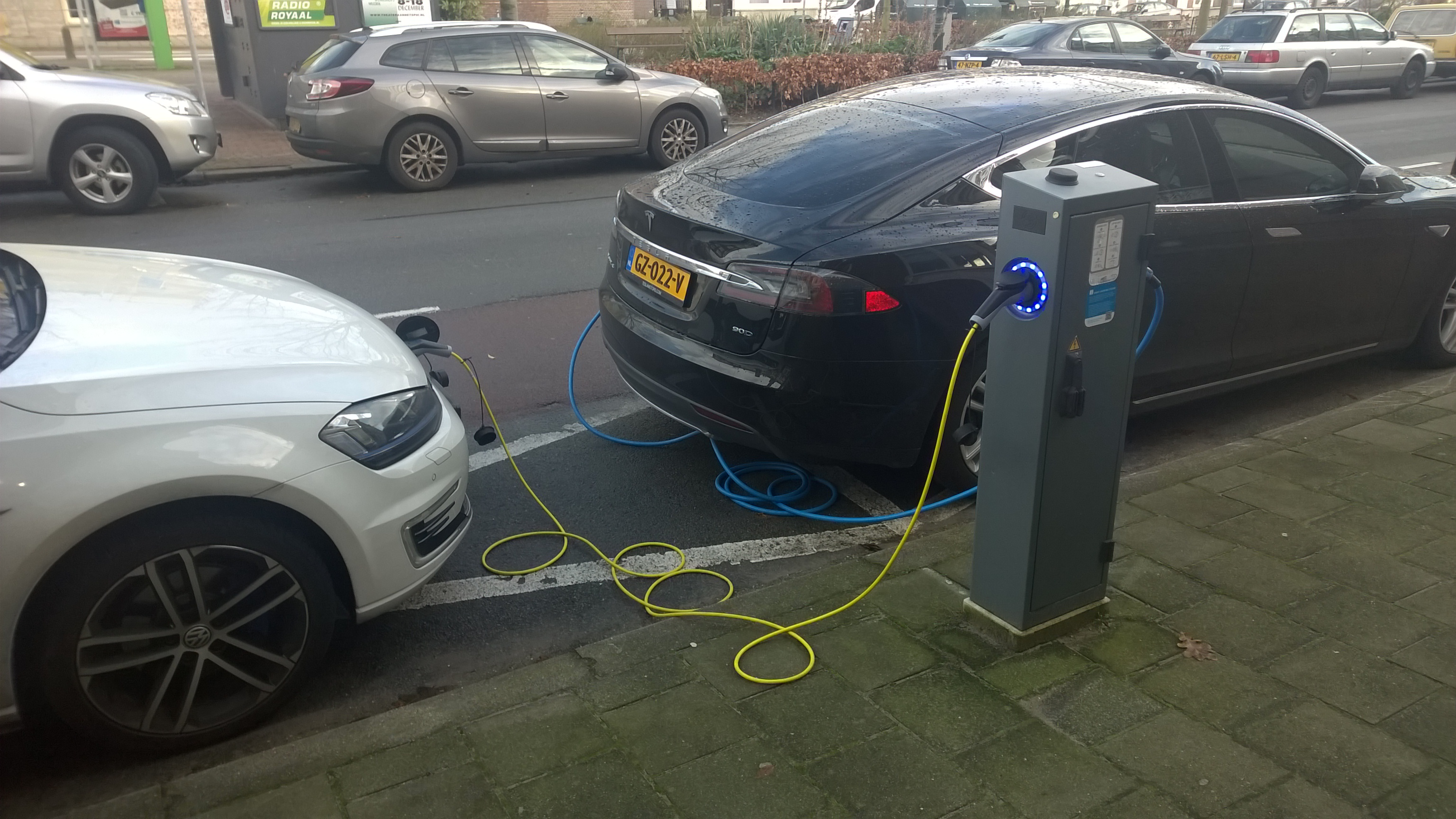 File Elektrische Auto Oplaad Punt In De Javastraat Den Haag Jpg
