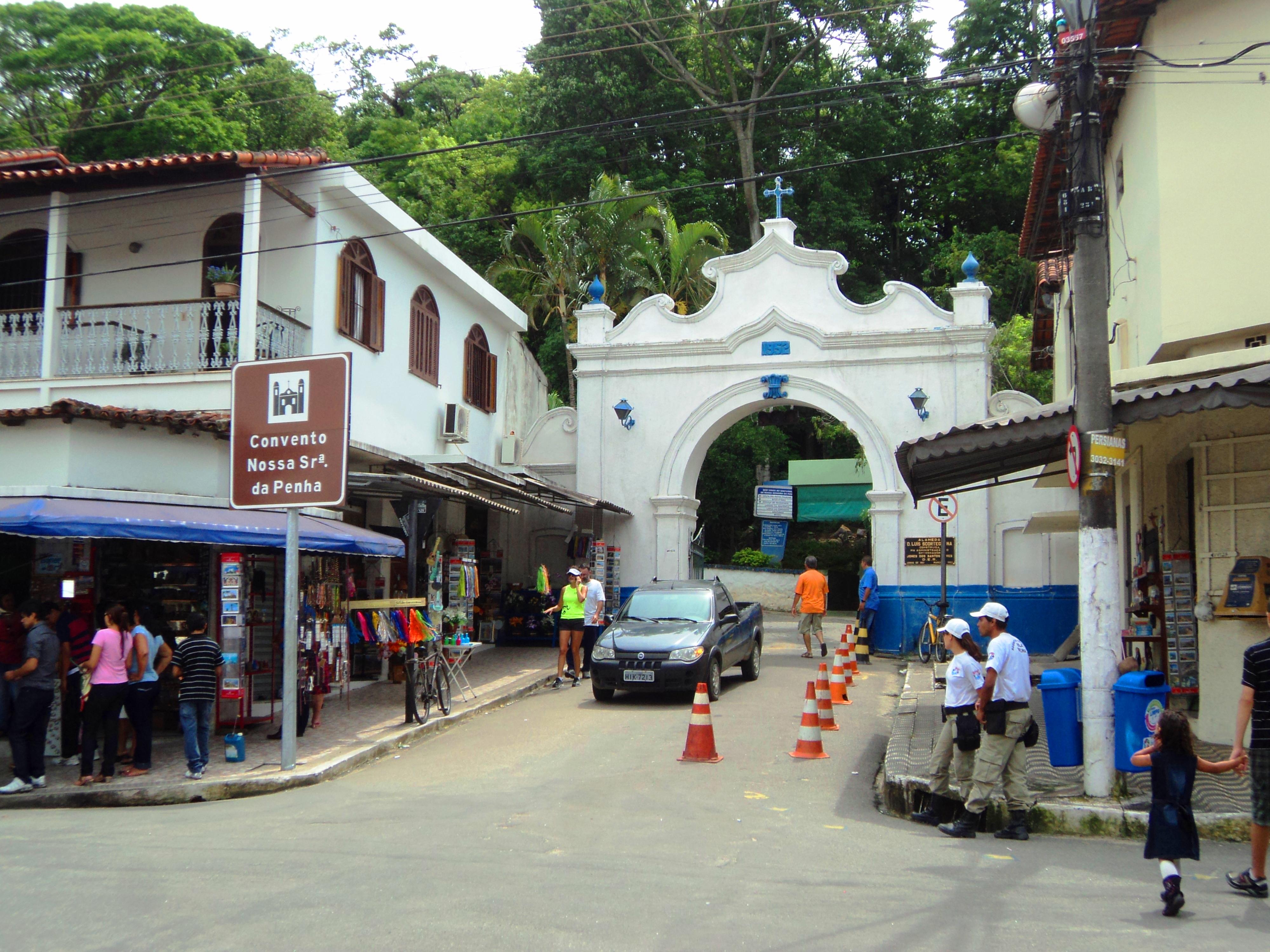 Fotos antigas do convento da penha vila velha es
