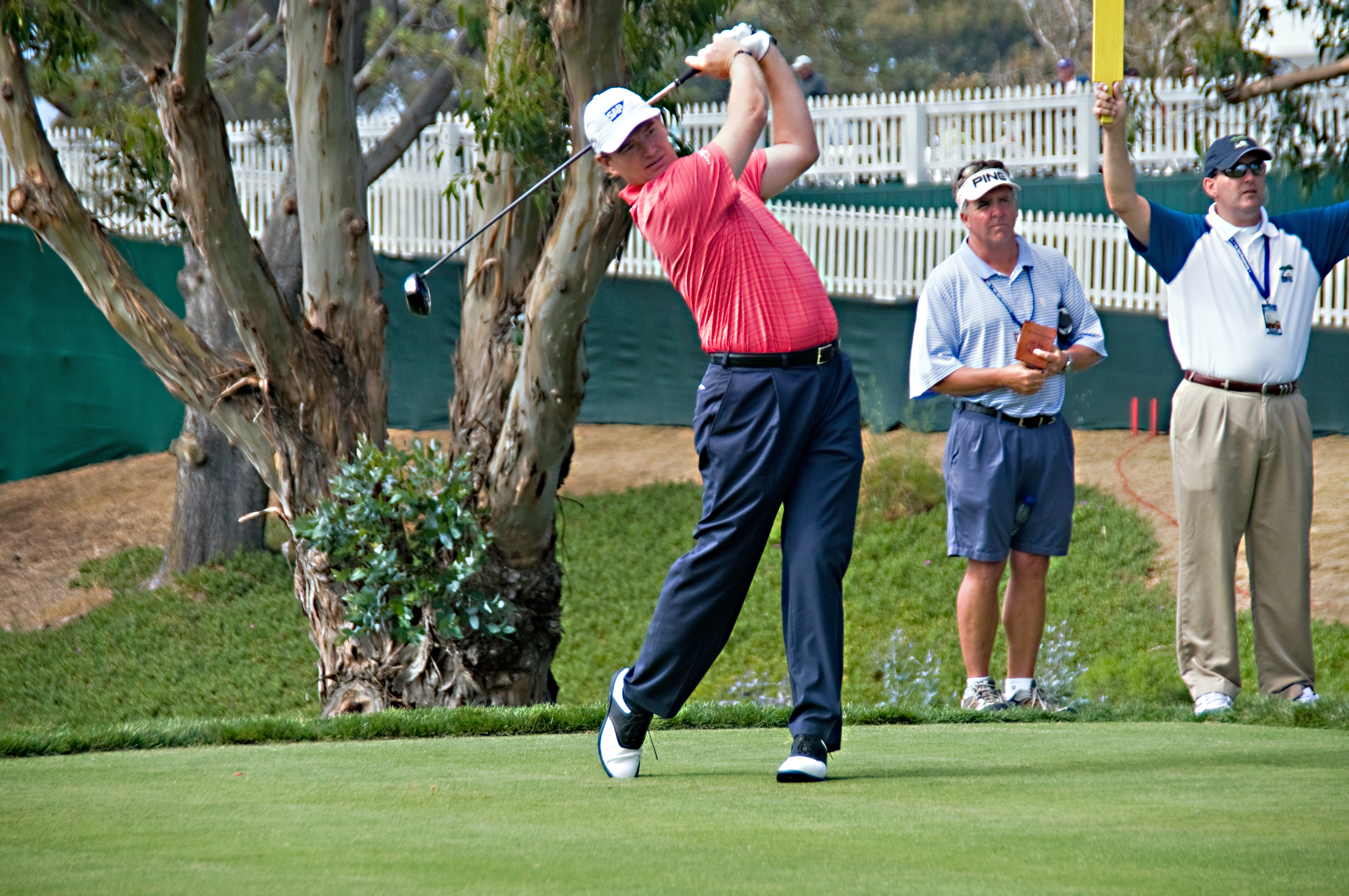 Corey Harrison Wife Charlene Els at torrey pines for the