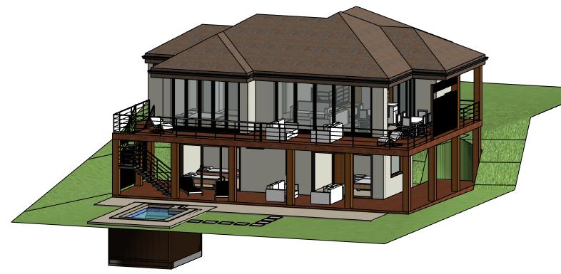 File:Exemple de modélisation en 3D dans Revit 2015 png
