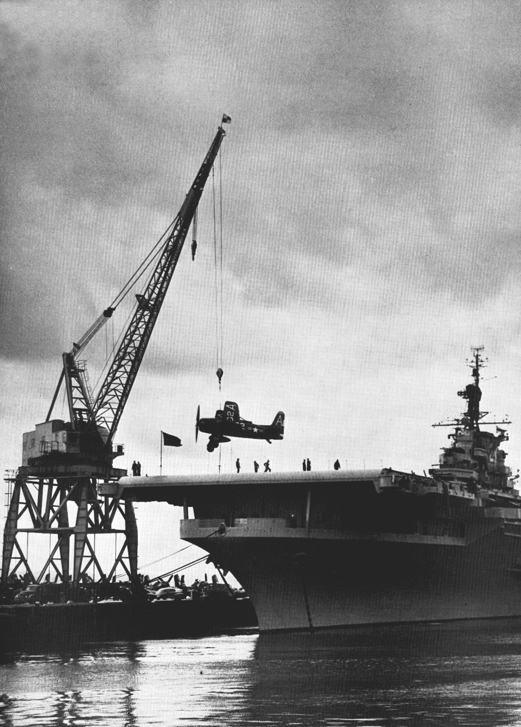file f8f is loaded on uss boxer  cv
