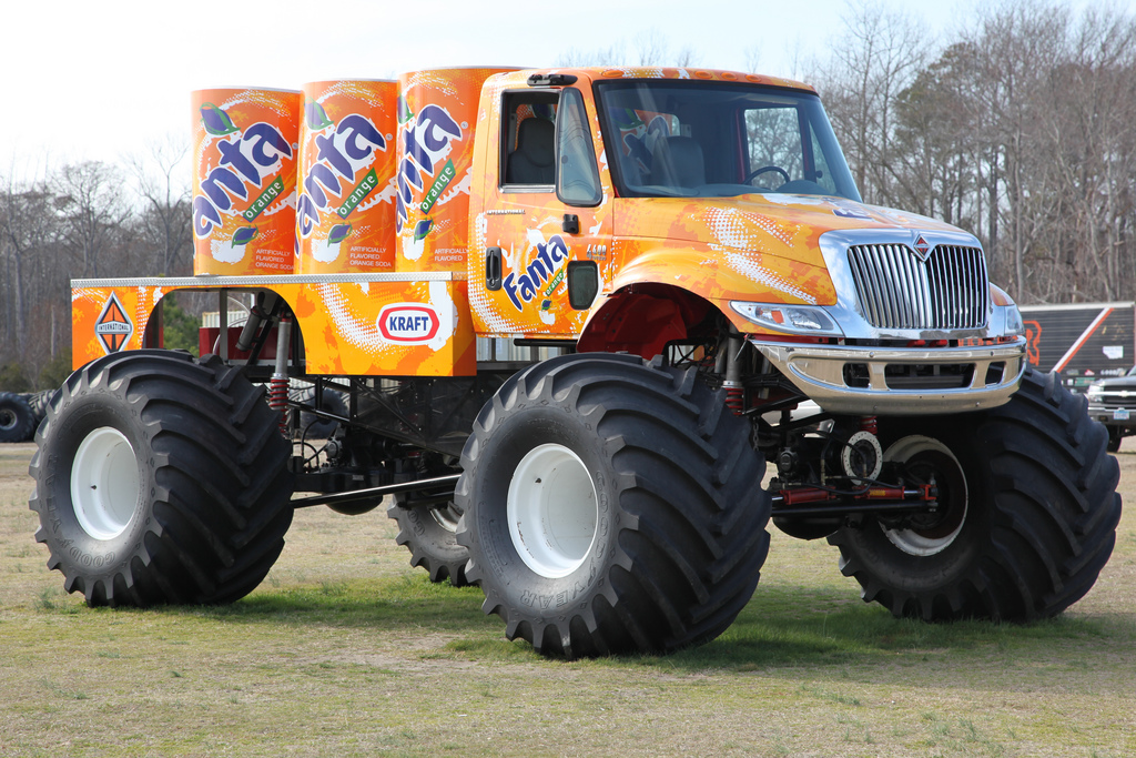 Coolest Monster Truck In The World