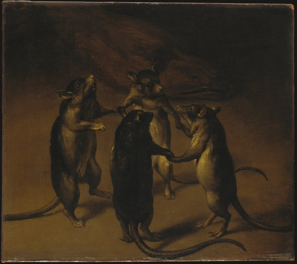 File:Ferdinand van Kessel (Attr) - The dance of rats.jpg - Wikimedia ...