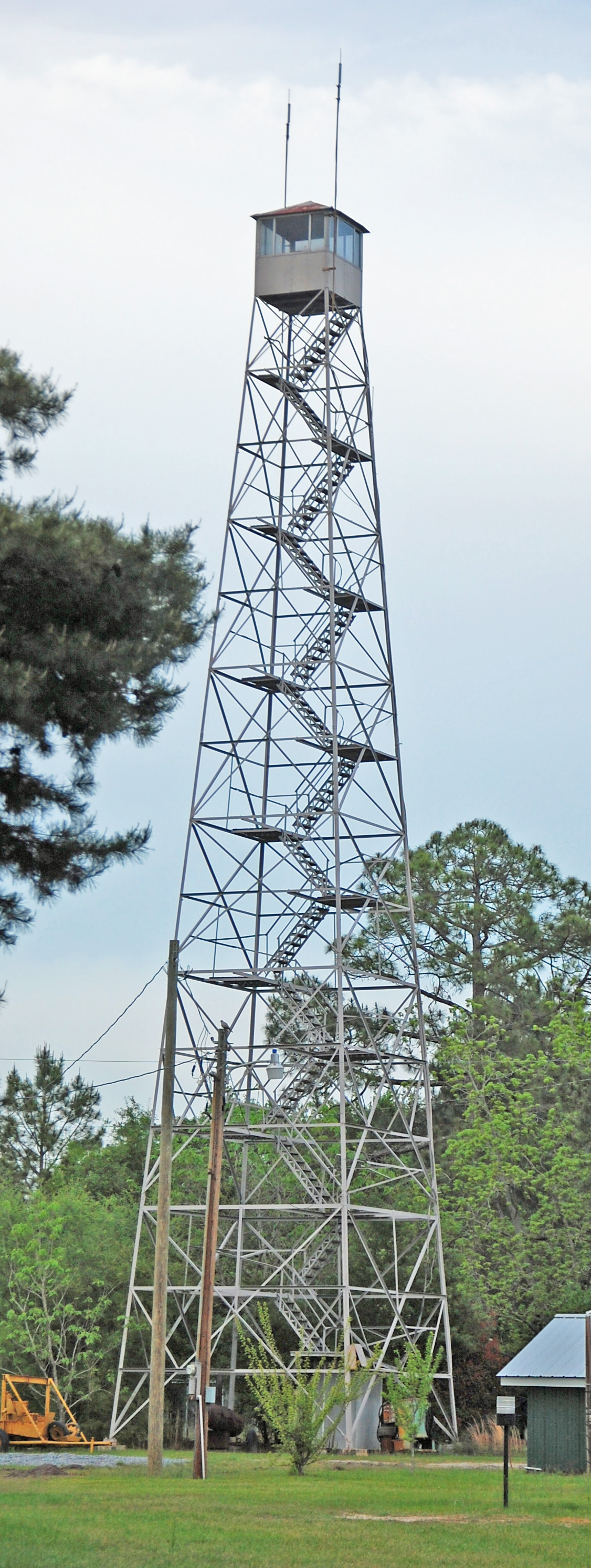 filefire lookout tower in south georgia usajpg wikipedia