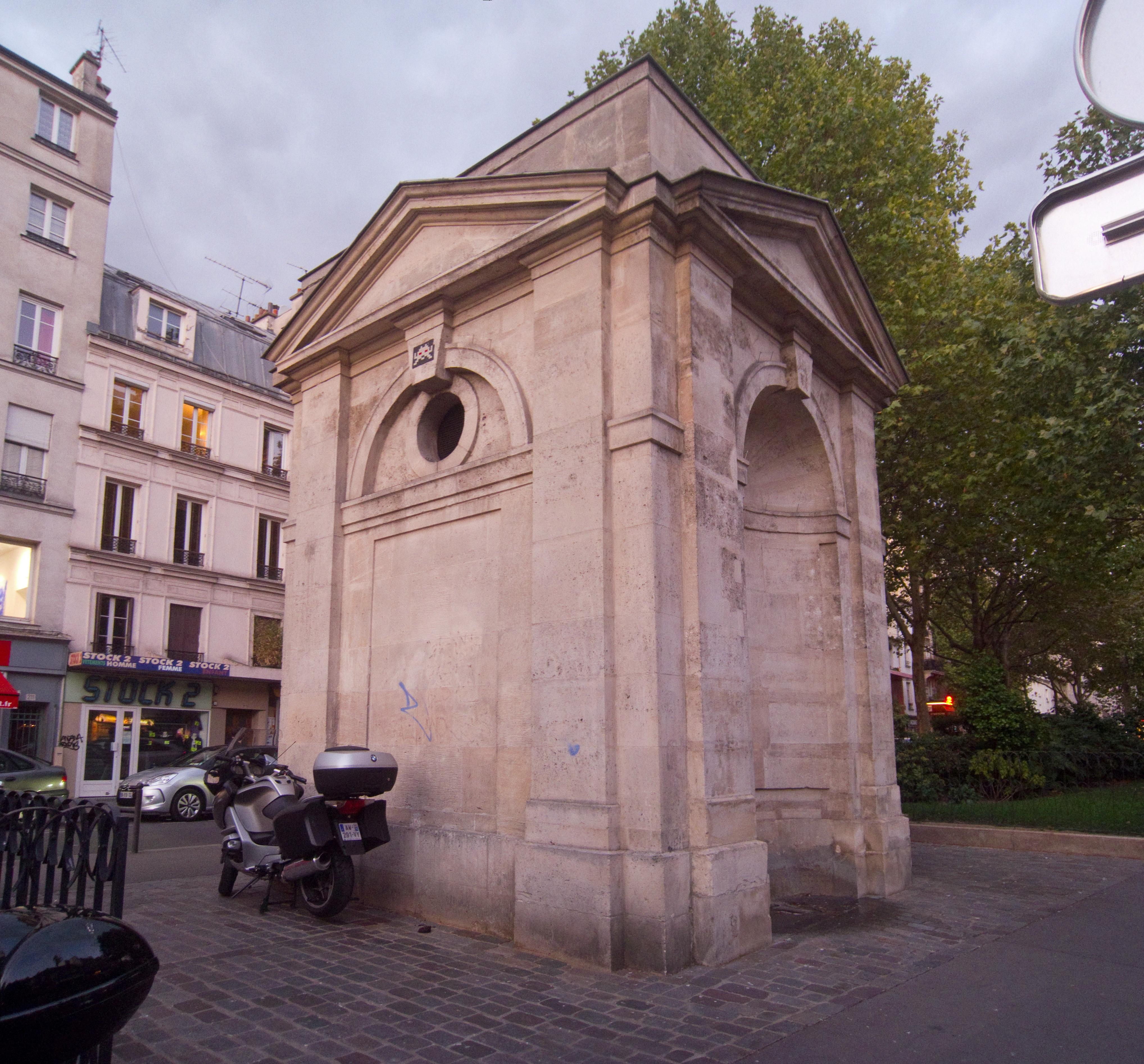File fontaine de montreuil paris southwest corner on - Paris rue du faubourg saint antoine ...