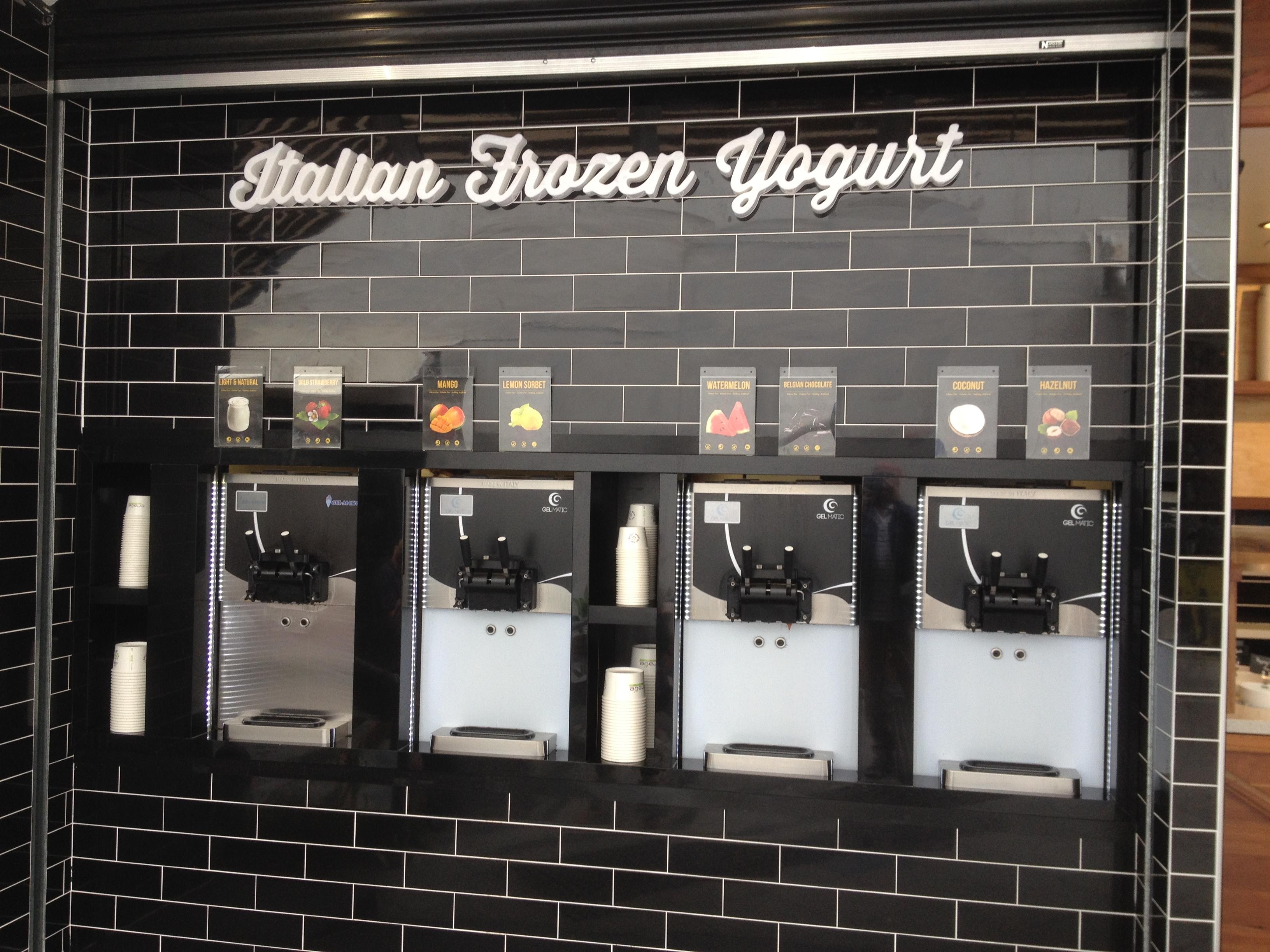 yogurt vending machine
