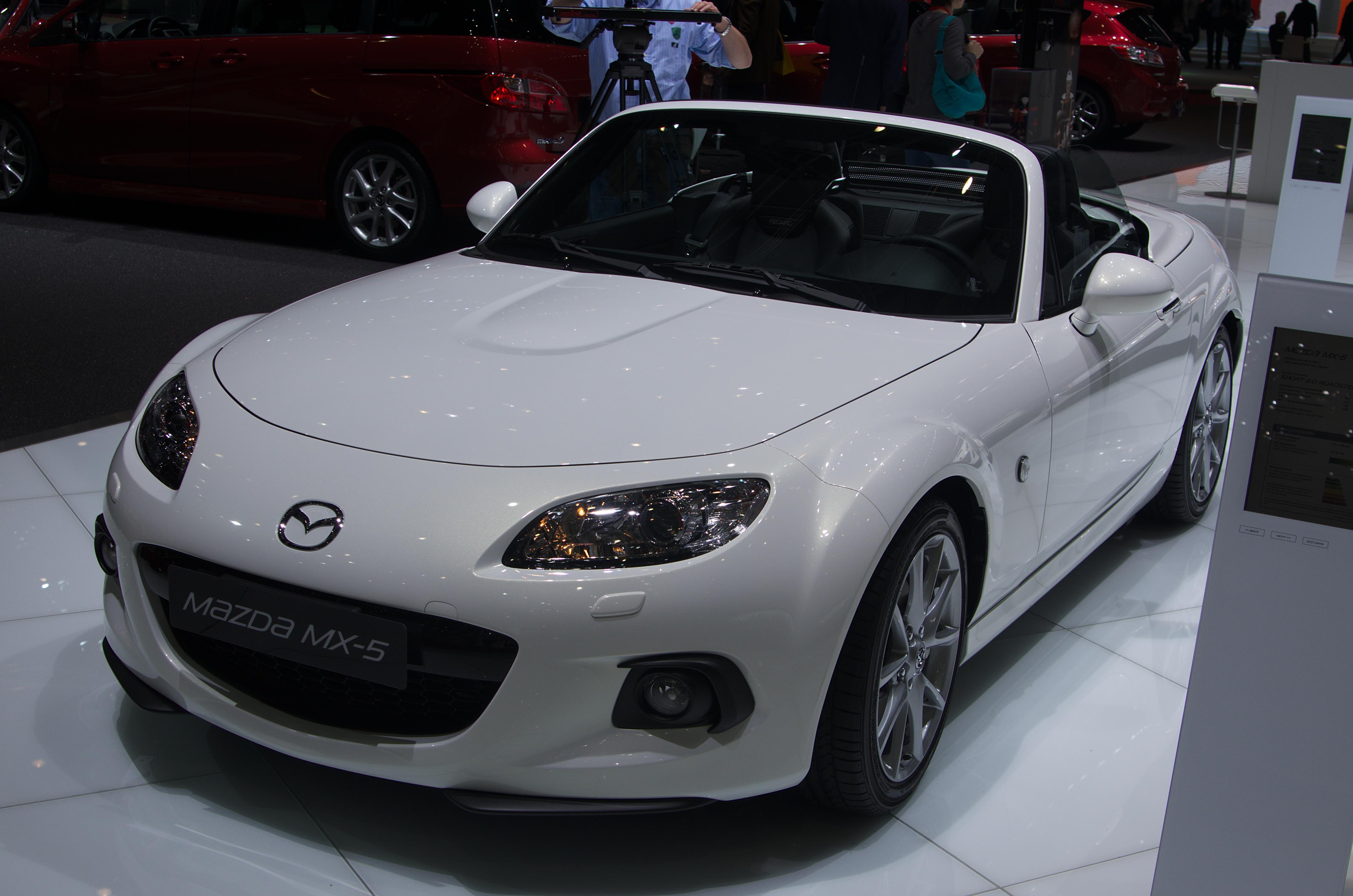File:Geneva MotorShow 2013 - Mazda MX-5.jpg - Wikimedia Commons